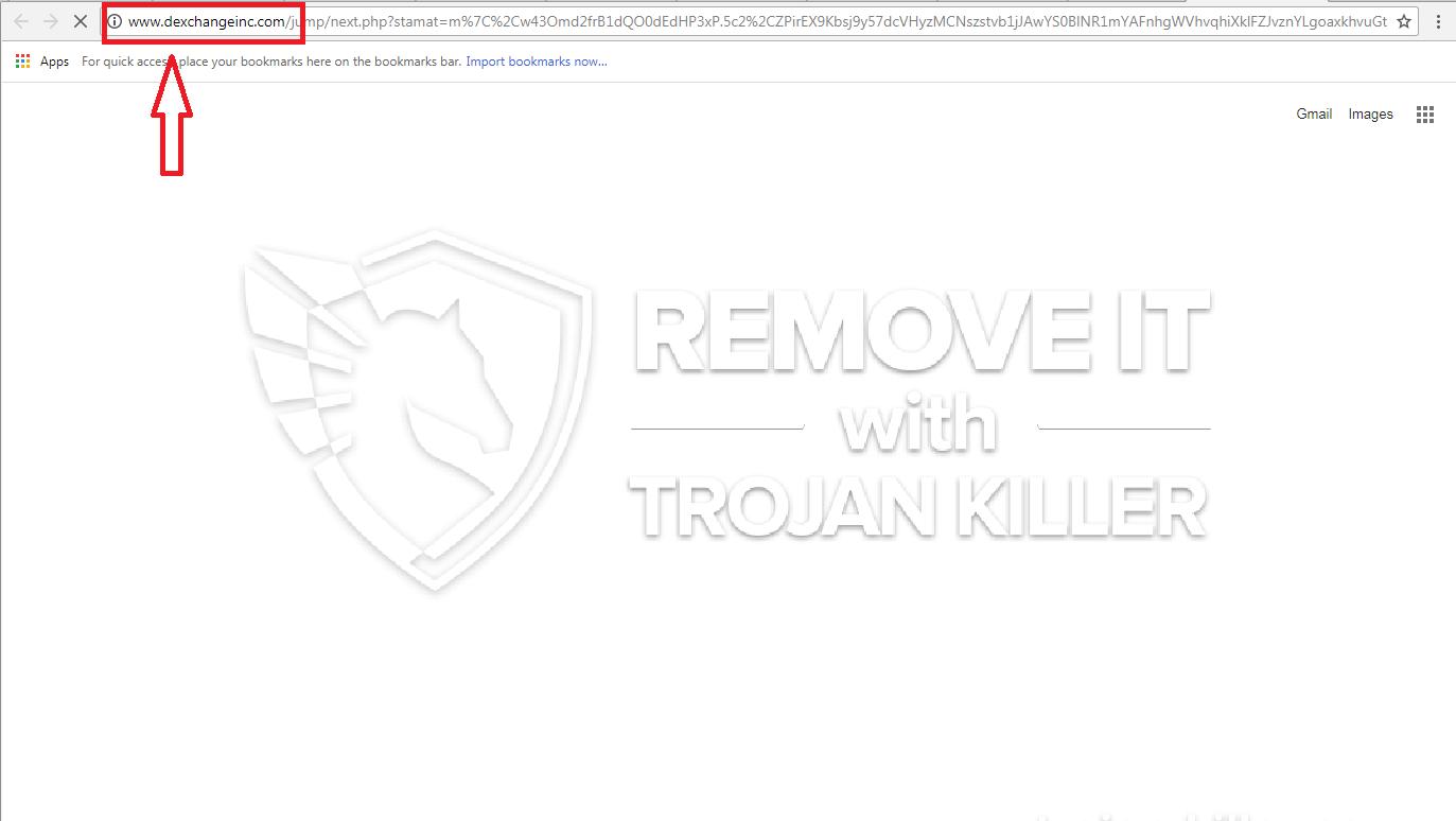 remove Dexchangeinc.com virus
