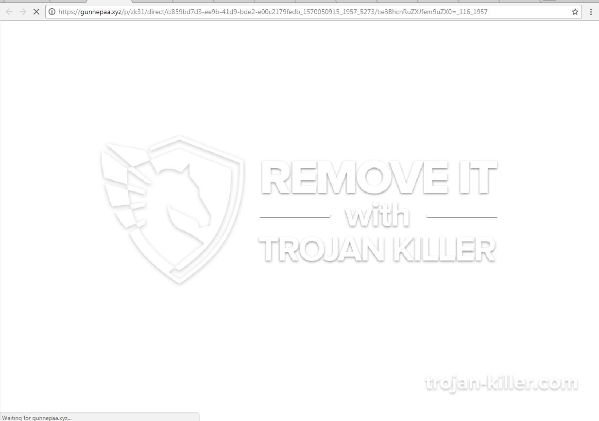 remove Gunnepaa.xyz virus