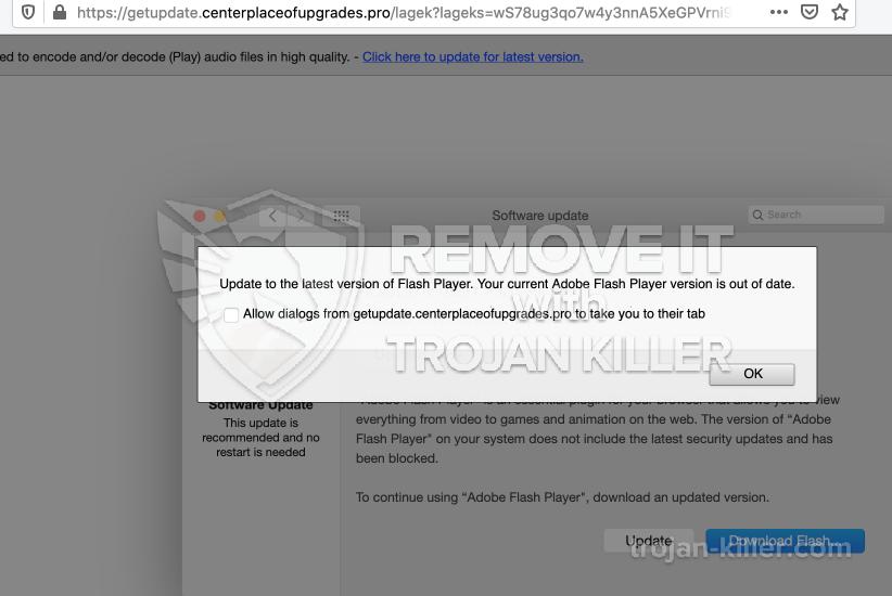remove Centerplaceofupgrades.pro virus