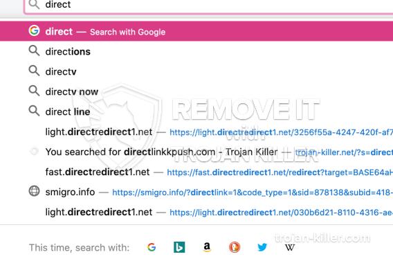 remove Directredirect1.net virus
