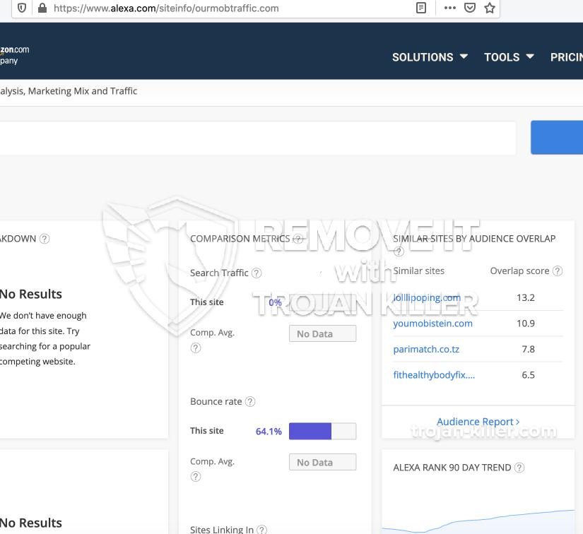 remove Ourmobtraffic.com virus