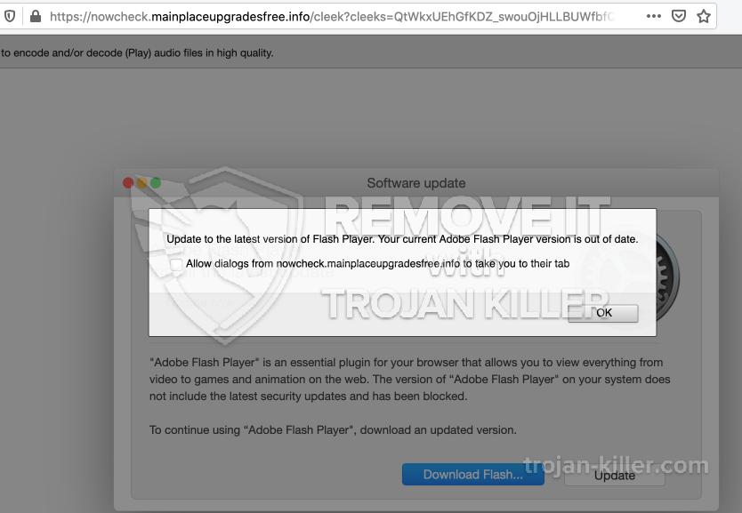 remove Mainplaceupgradesfree.info virus
