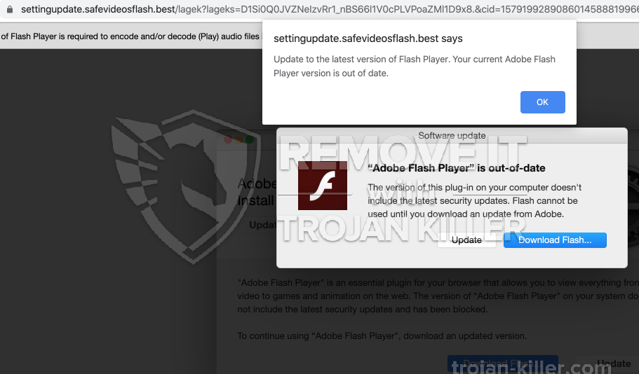 remove Safevideosflash.best virus