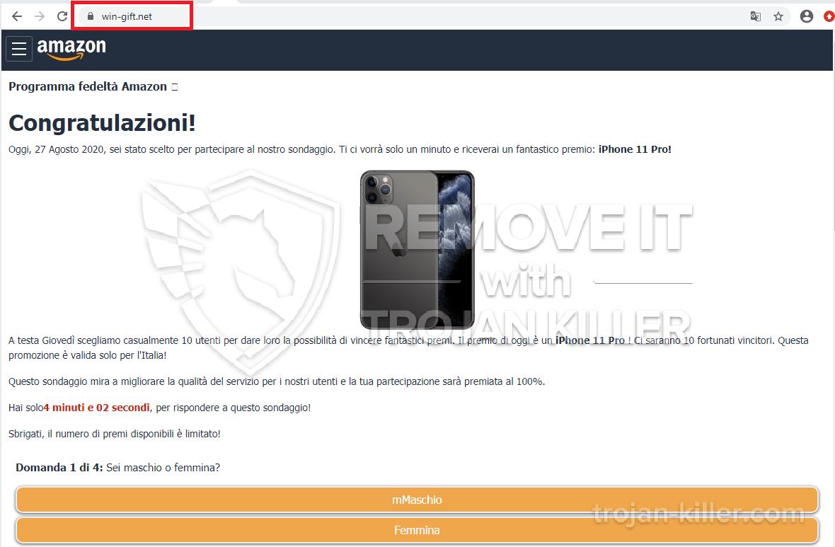 remove Win-gift.net virus