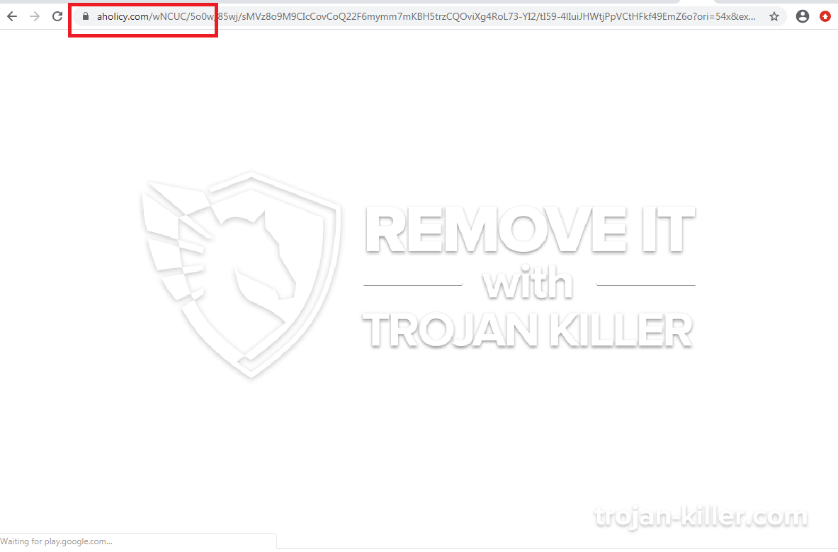 remove Aholicy.com virus