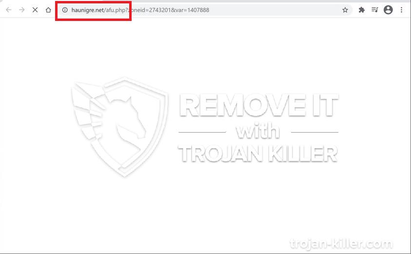 remove Haunigre.net virus