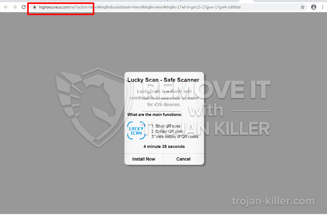 remove Highsecureus.com virus