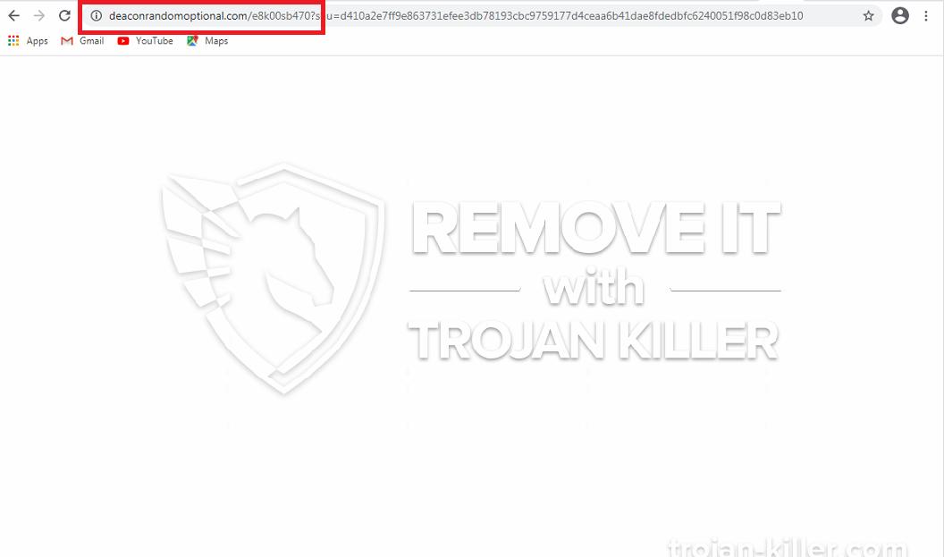 remove Deaconrandomoptional.com virus