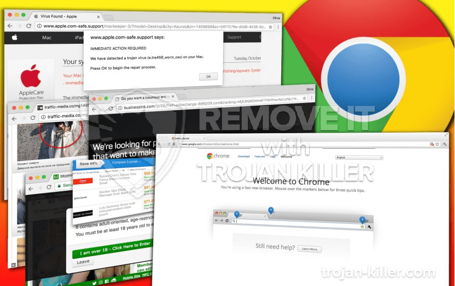 remove Onizatop.net virus