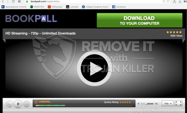 Bookpall.com Virus