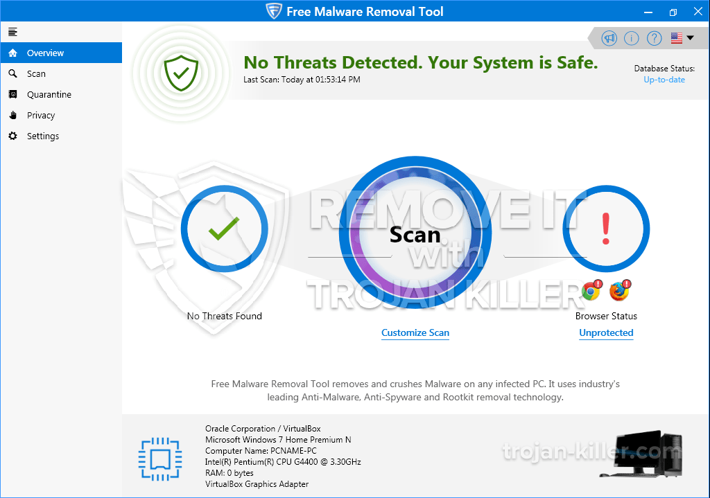 remove Free Malware Removal Tool