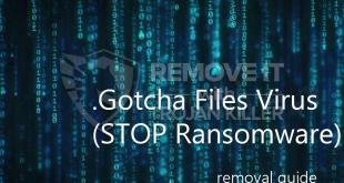 Gotcha Ransomware (Restore Guide)