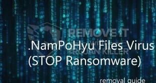 .NamPoHyu Ransomware Removal