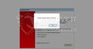 Hjwrpjiqp2868.site fake Java Update alert removal.