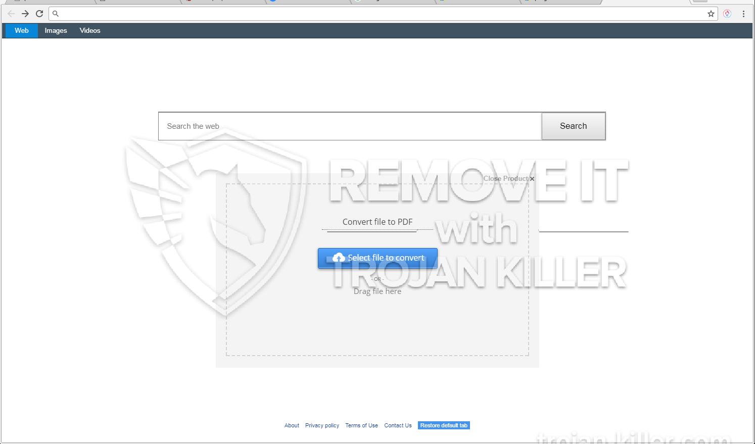 Pdfgenie.net virus