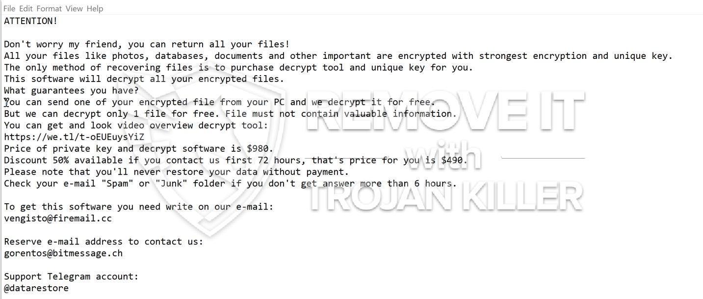 CODNAT1 ransomware virus