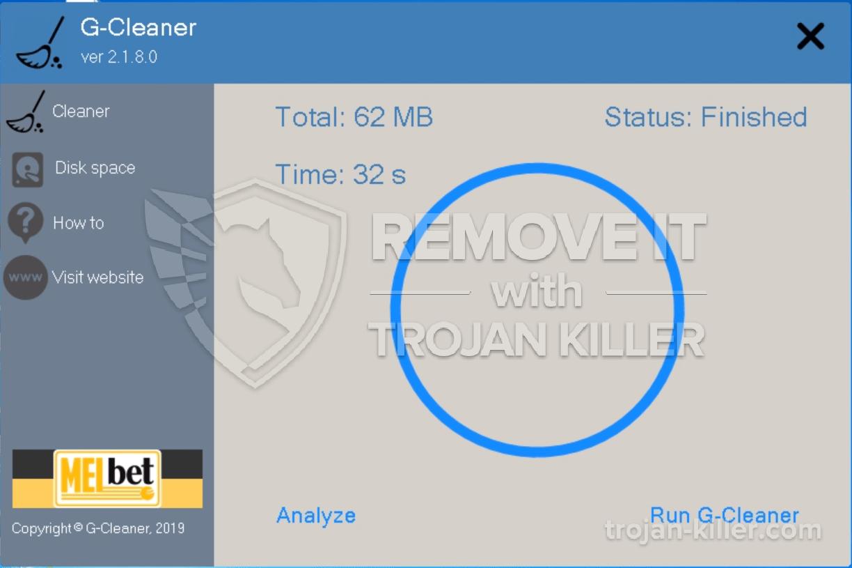 eliminar G-Cleaner