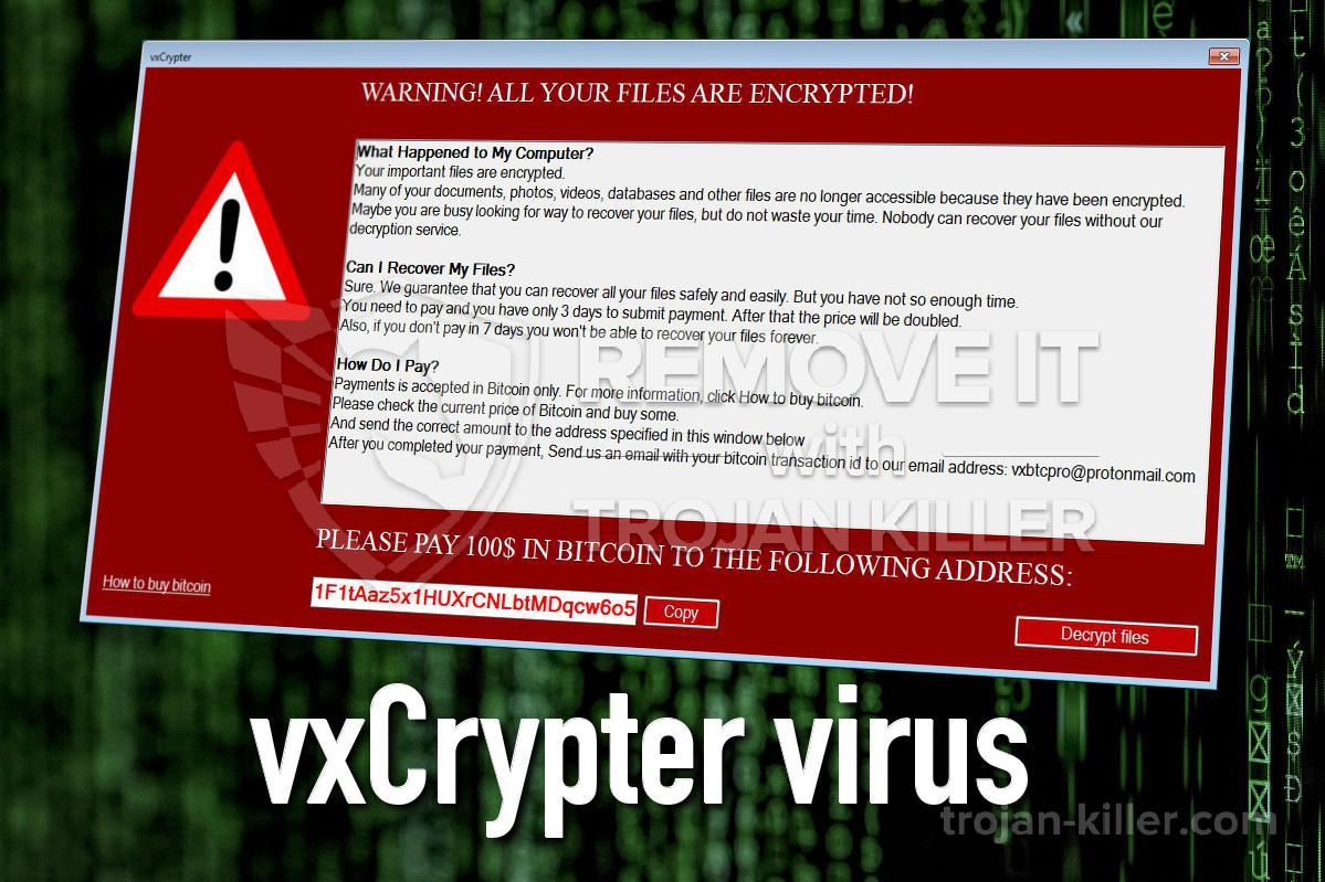 VxCrypter virus