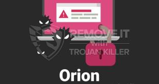 Remove Orion Virus Ransomware (+File Recovery)