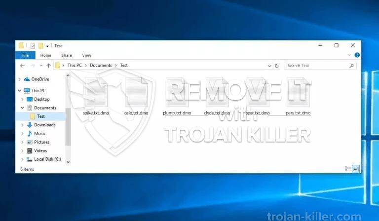 RANSOMNIX (.DMX) vírus ransomware