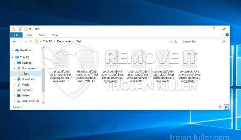 .WALLET ransomware virus