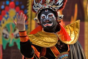 Bian Lian — is an ancient Chinese dramatic art