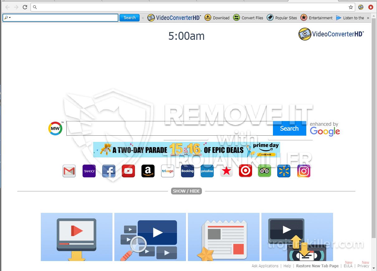 Videoconverterhd.com 바이러스