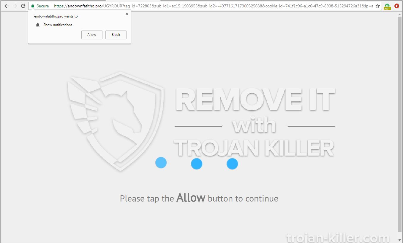 Endownfatitho.pro virus