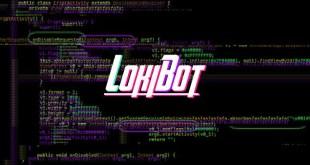 LokiBot malware uses steganography