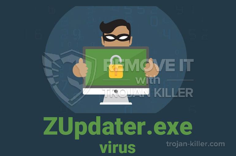 What is ZUpdater.exe?