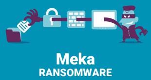 Meka 바이러스 랜섬웨어를 제거 (+파일 복구)