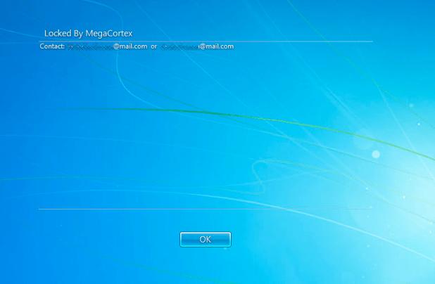 Windows blokkeren van het binnendringen door MegaCortex
