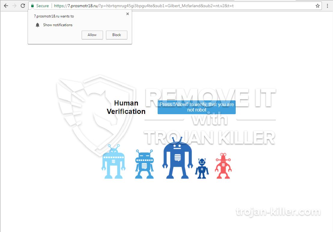 Prosmotr18.ru virus