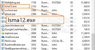 Lsma12.exe – Virus Files Removal