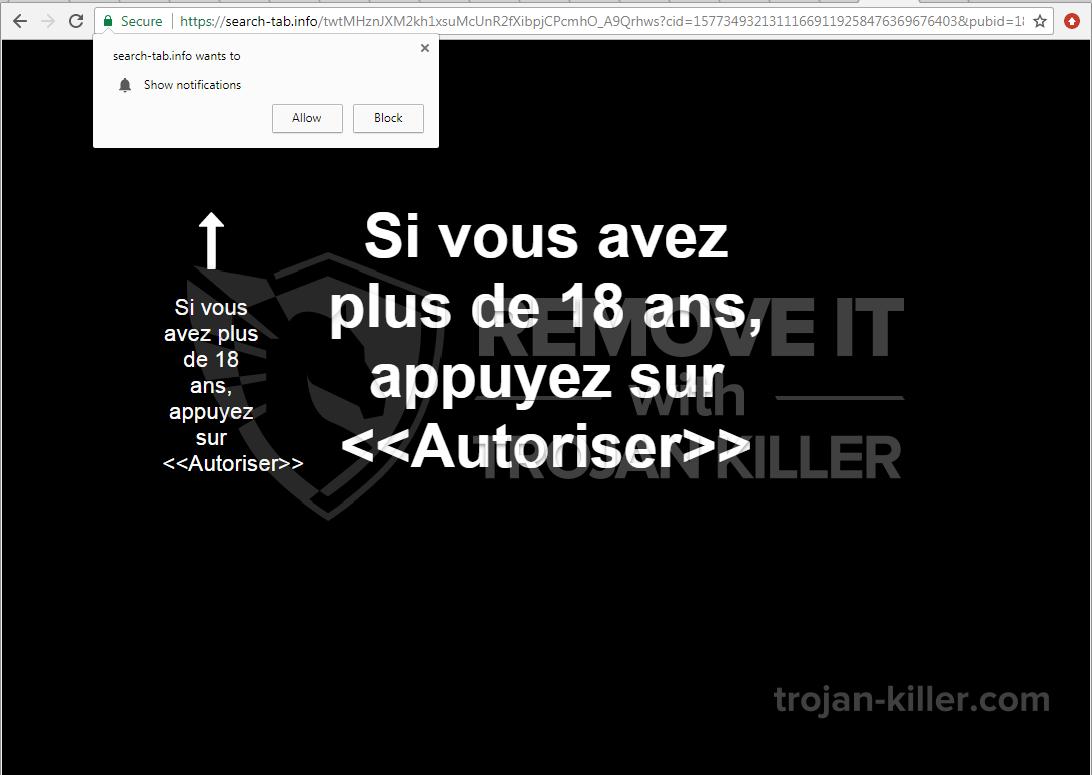 Search-tab.info virus