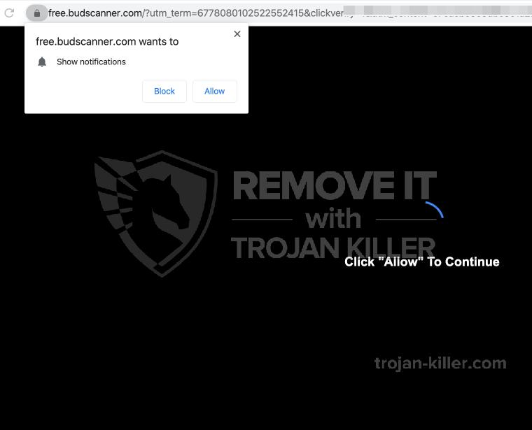 Free.budscanner.com virus