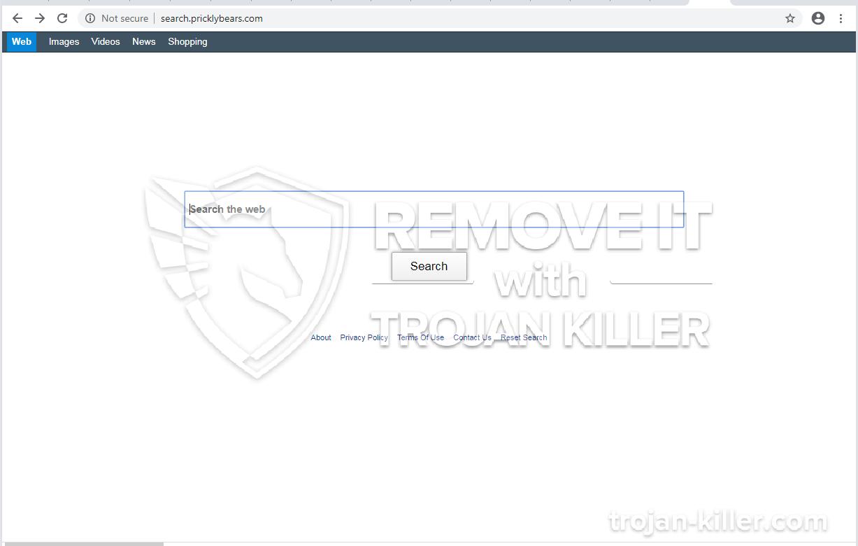 Pricklybears.com virus