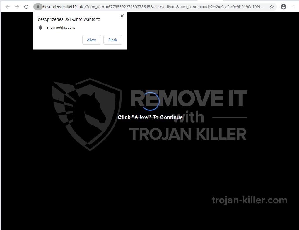 Prizedeal0919.info virus