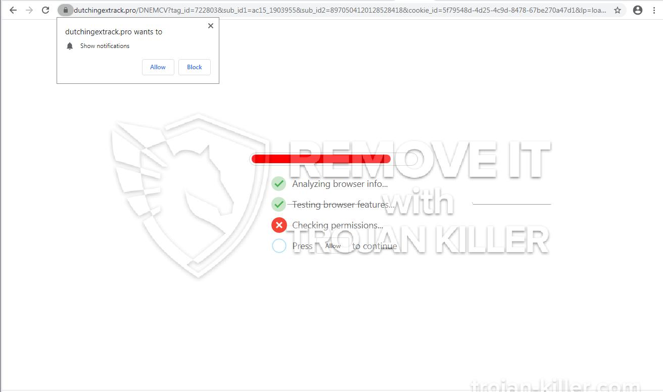 Dutchingextrack.pro virus