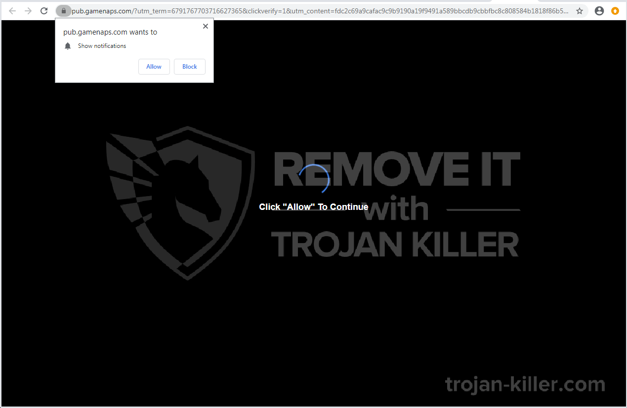 Gamenaps.com virus