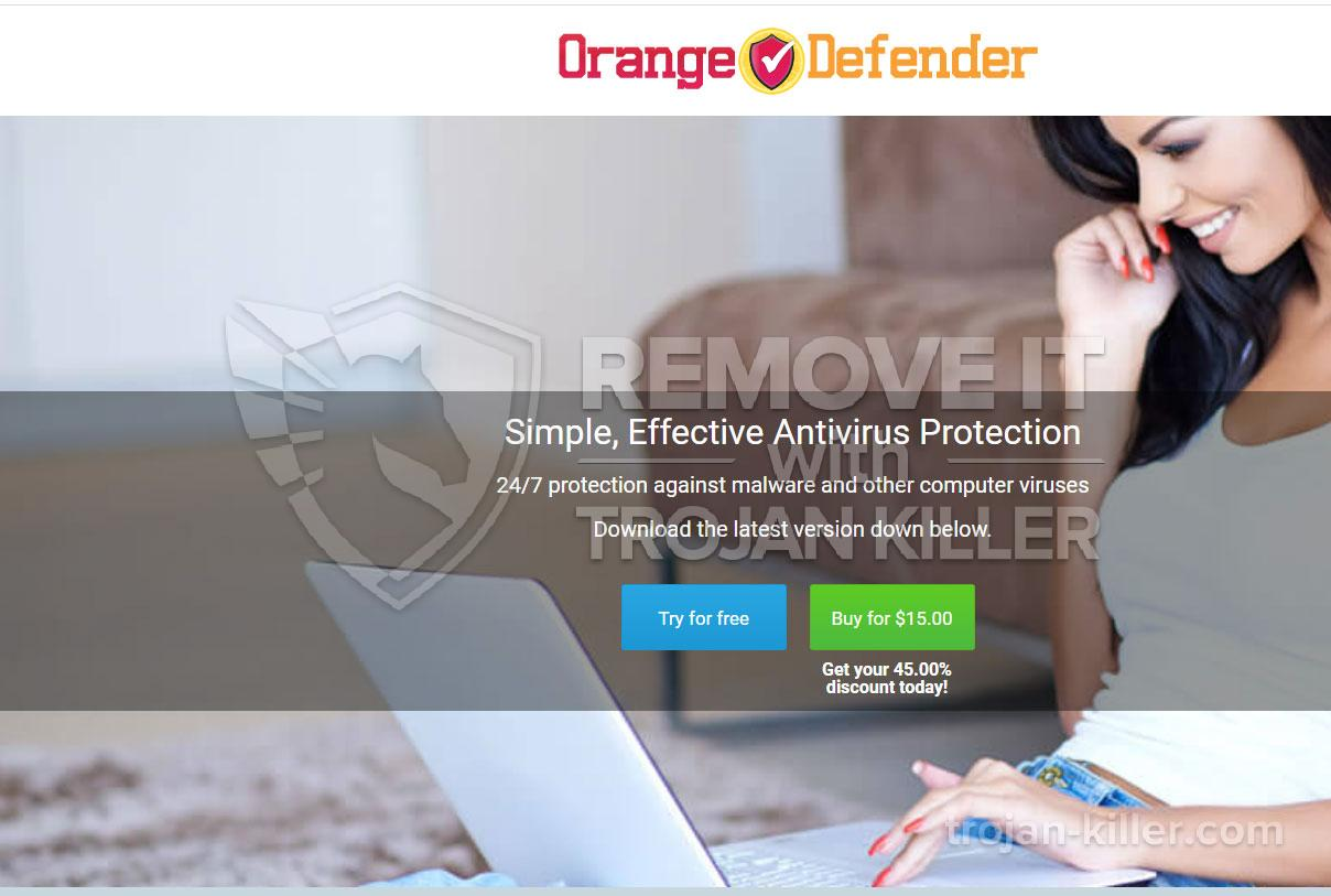 What is Orange Defender Antivirus?