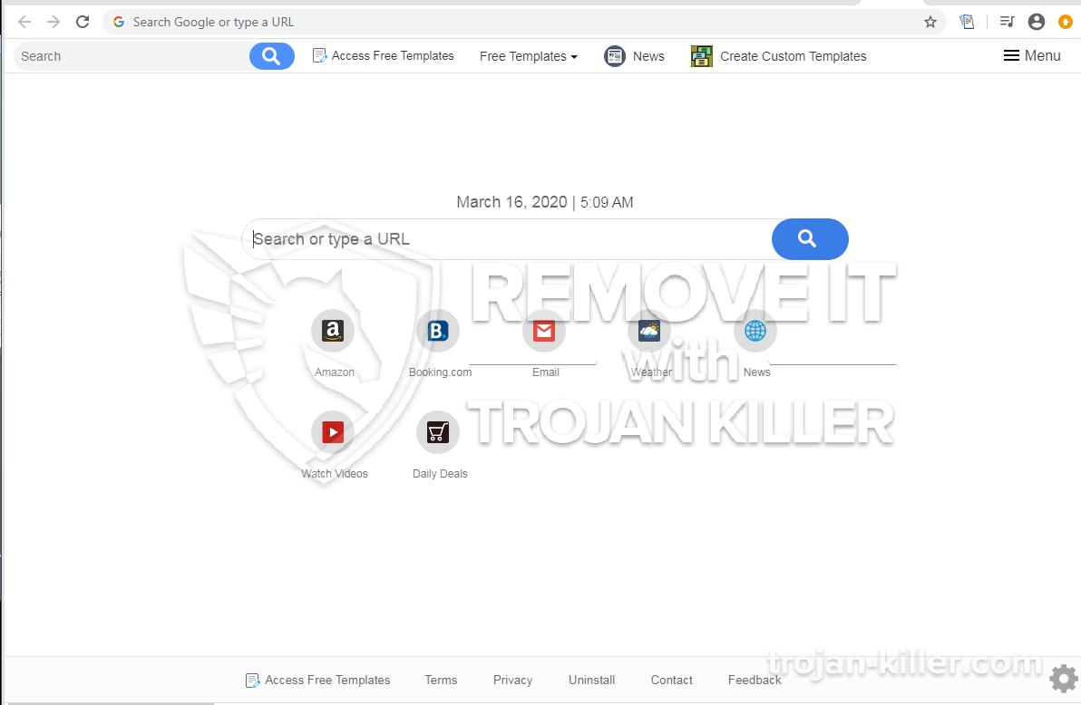 Accessfreetemplates.com virus
