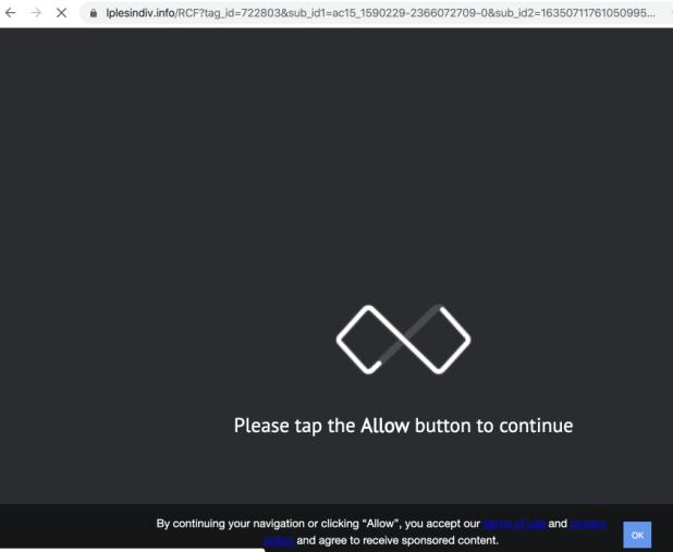 Lplesindiv.info Umleitung Malware