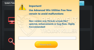 Advanced Win Utilities fake optimization tool (removal guide).