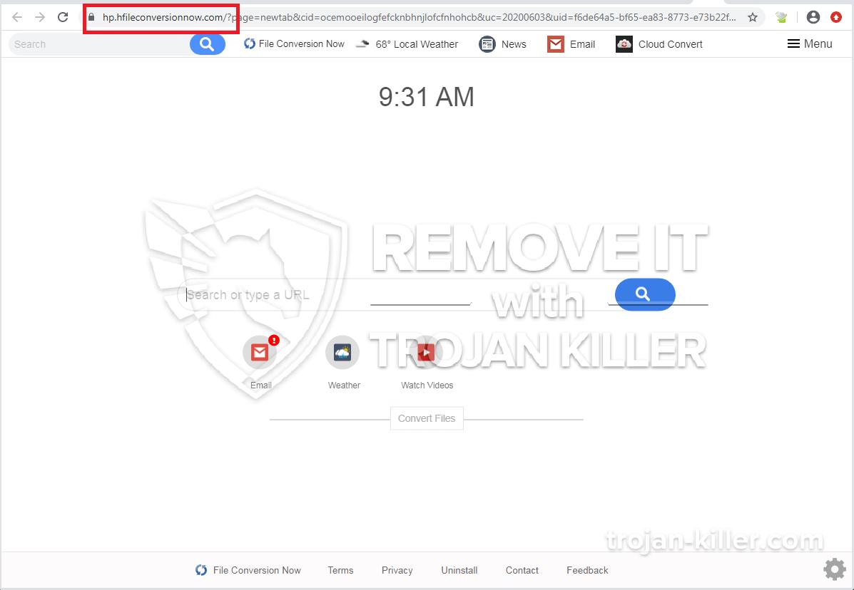 Hfileconversionnow.com virus