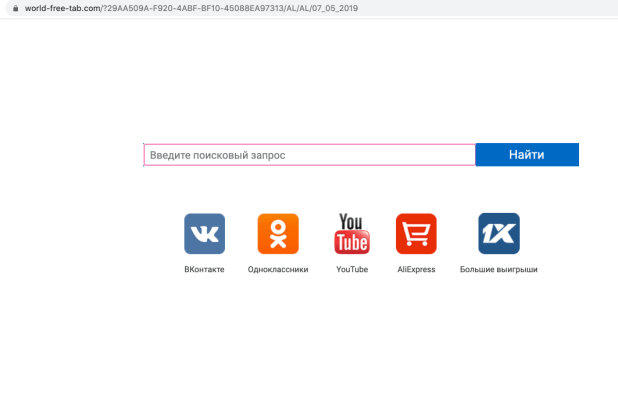 Secuestrador de World-free-tab.com