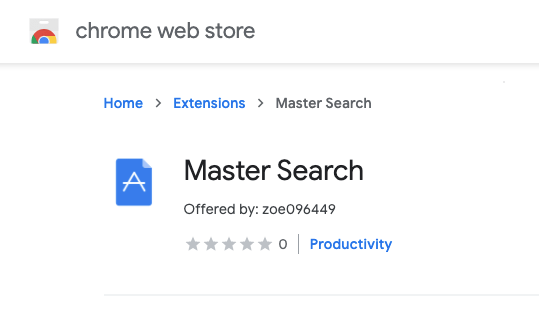 Master Search