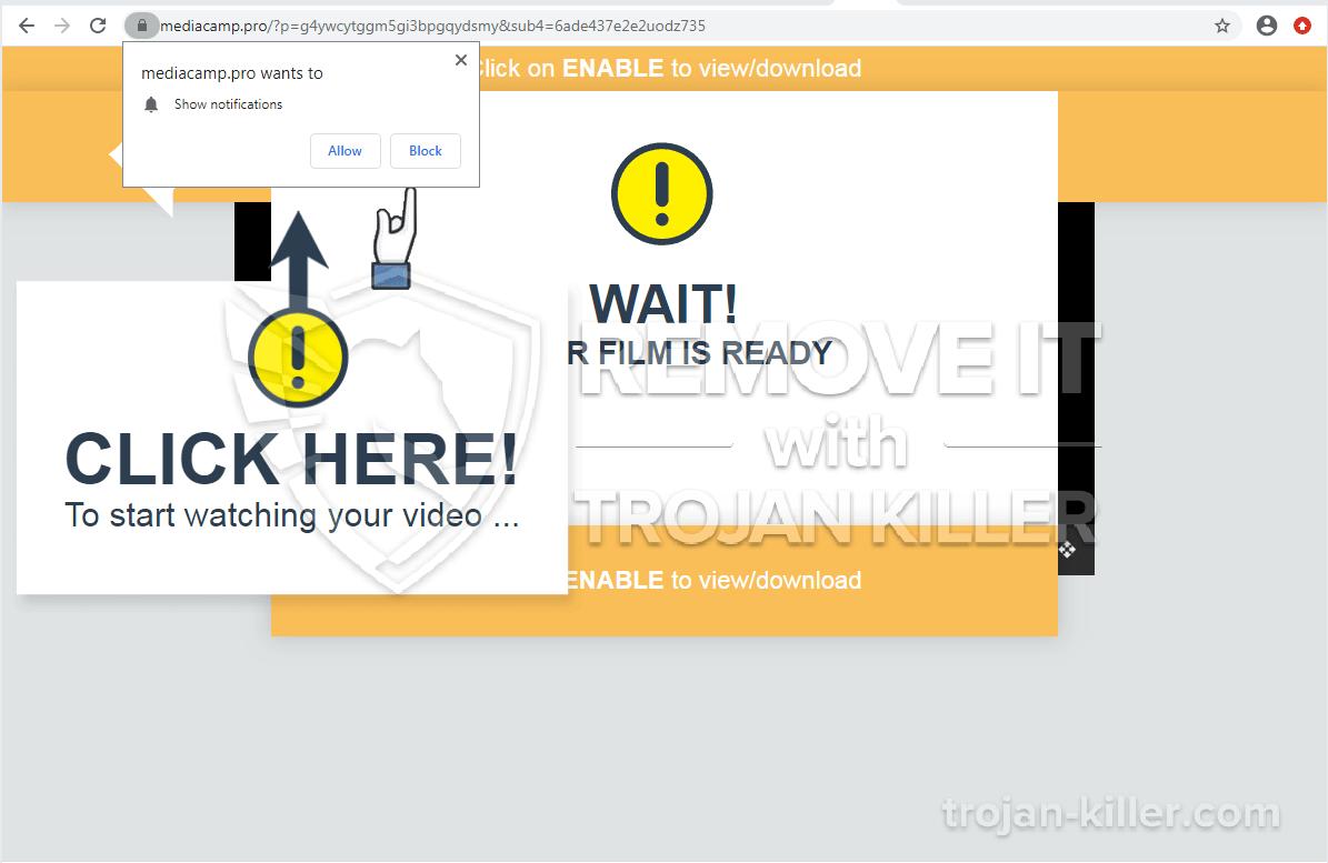 Mediacamp.pro virus