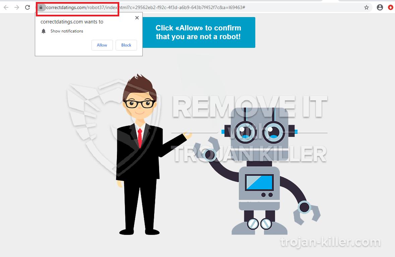 Correctdatings.com virus