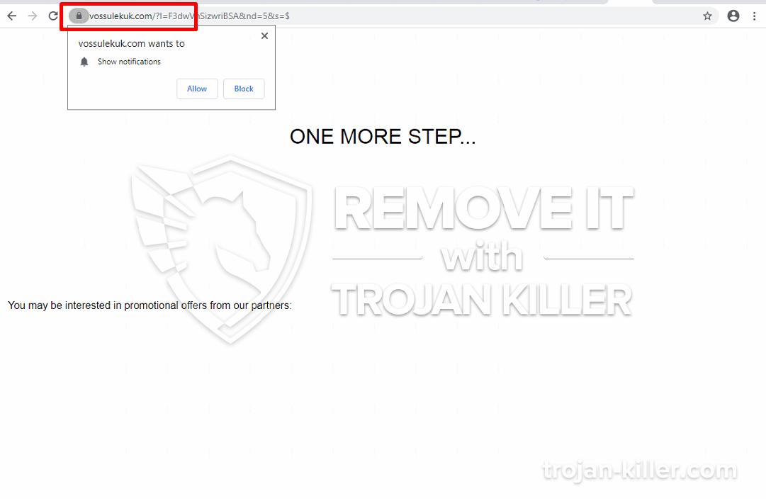 Vossulekuk.com virus